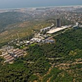 View over U of Haifa